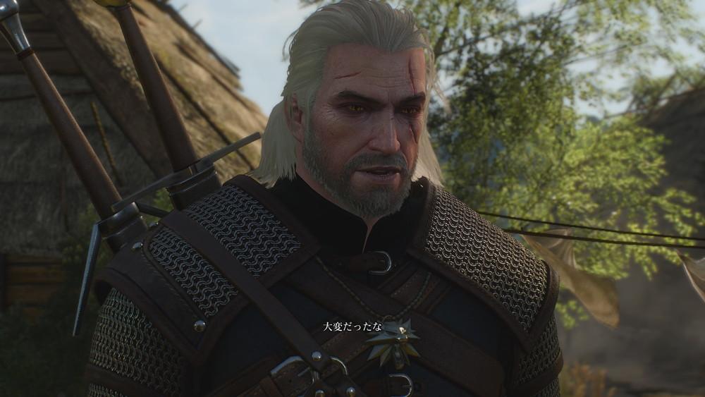 鍛冶屋のドワーフに話しかけるゲラルト -Witcher 3