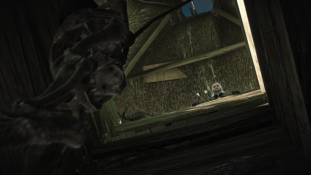 井戸につるされた死体 - Witcher 3