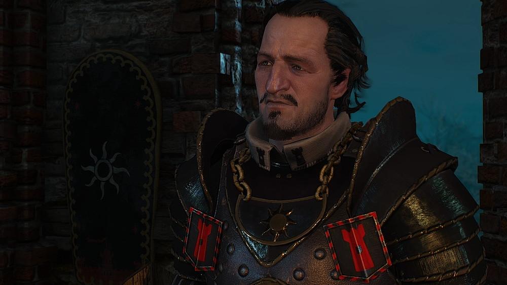 ニルフガード駐屯地の隊長 - Witcher 3