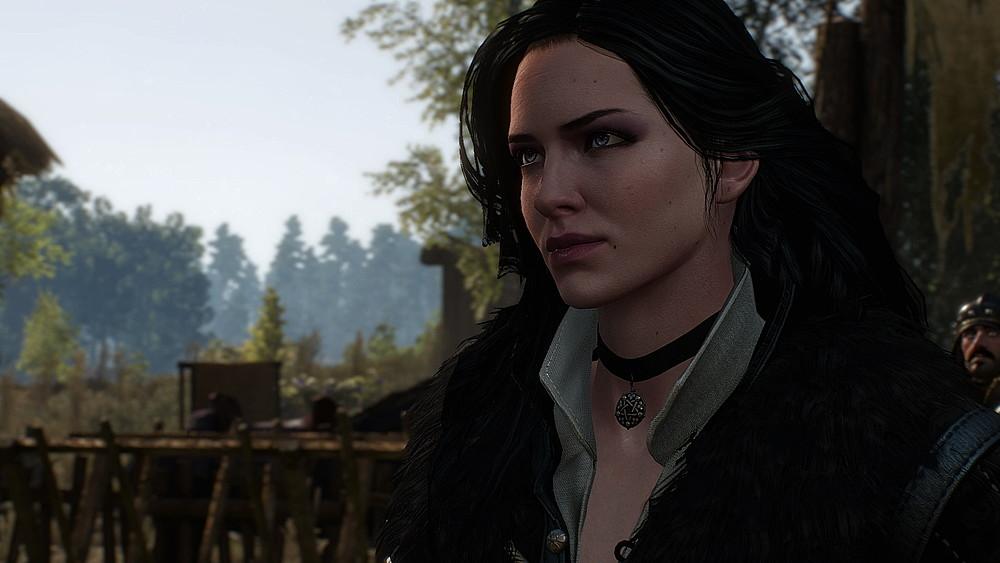 ホワイト・オーチャードに現れたイェネファー - Witcher 3