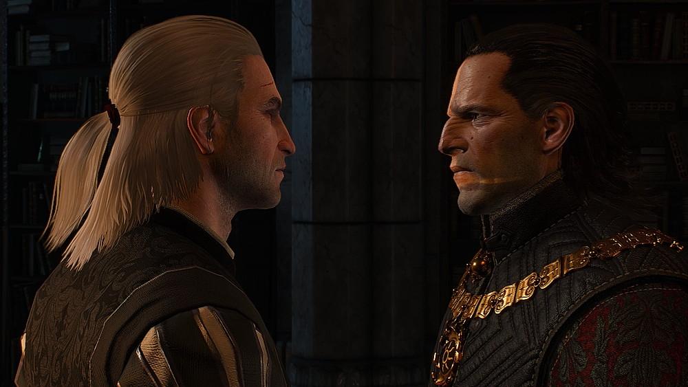 皇帝エムヒルとゲラルト - Witcher 3