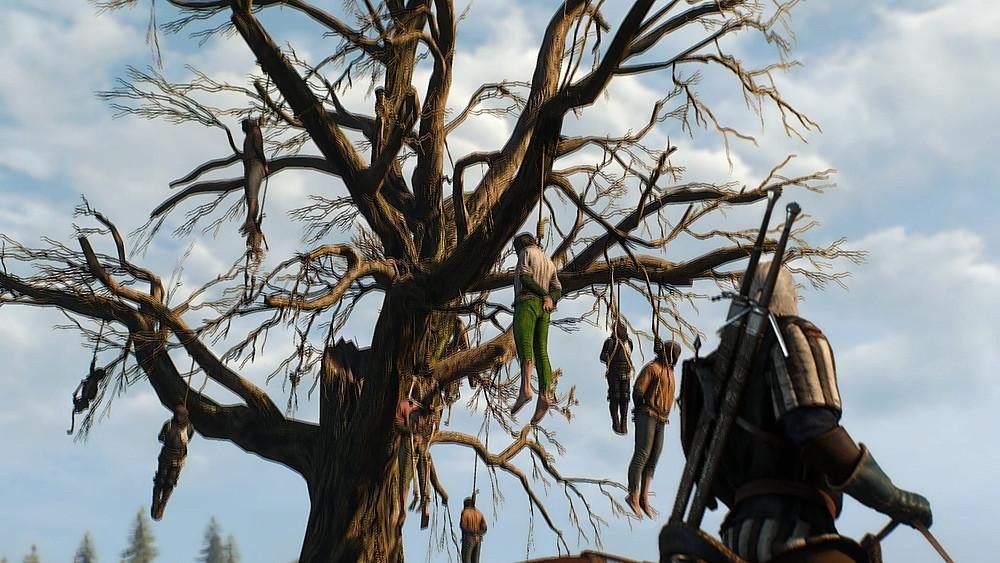 ヴェレンの首吊りの木 - Witcher 3