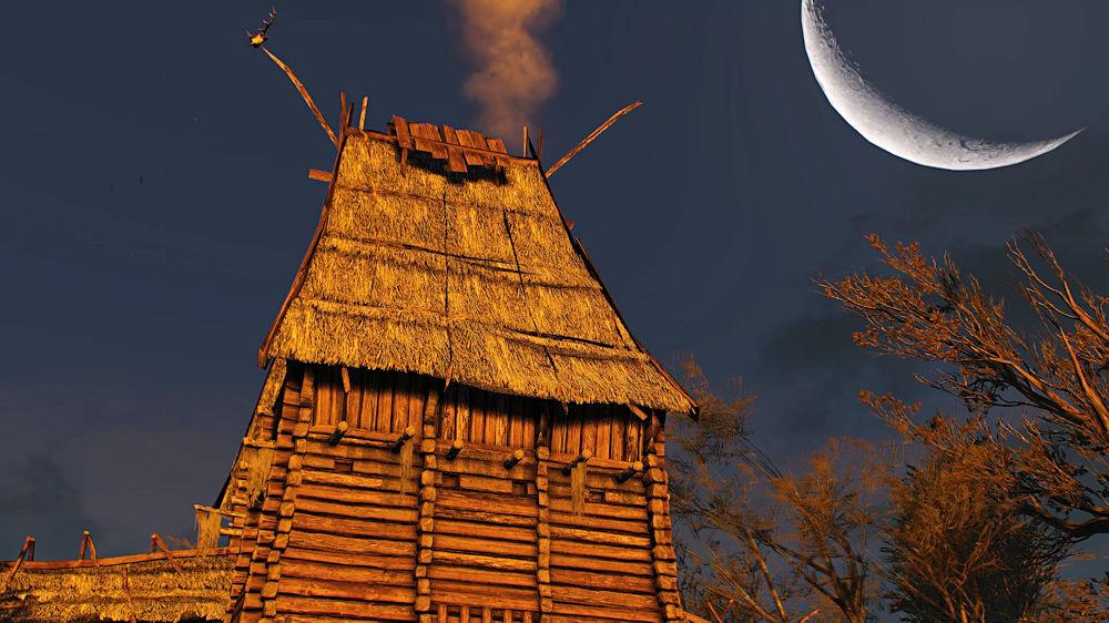 「貴婦人たち」と話しに建物へ - Witcher 3