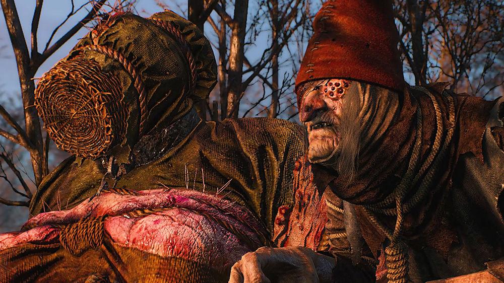 沼地に姿を現した「森の貴婦人」たち - Witcher 3