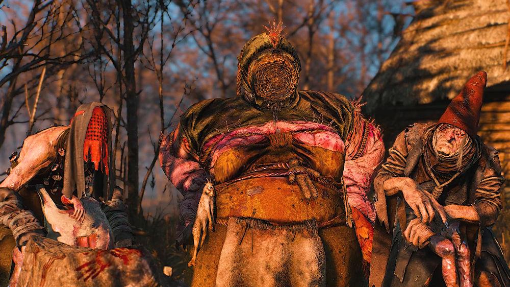 姿を現した「森の貴婦人」たち - Witcher 3