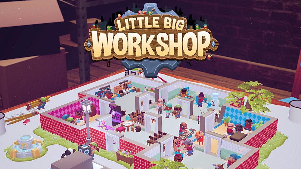 Little Big Workshop タイトル画面