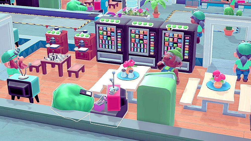 休憩室で休憩する社員 - Little Big Workshop